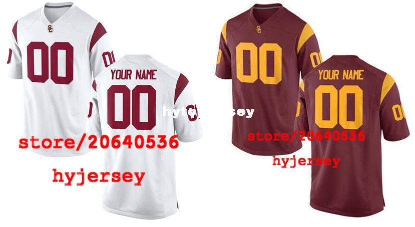 40fdff657 ... where to buy 2019 cheap custom usc trojans college jersey mens women  youth kids personalized any