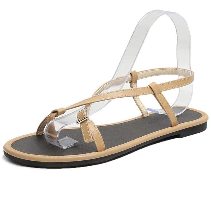 89e6f43fd61a5c Großhandel Damen Gladiator Sandalen Frauen Schuhe Sommer Schuhe ...