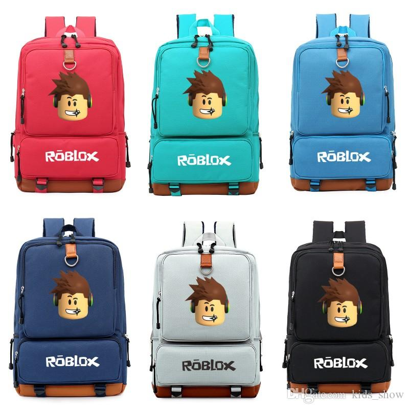 b8c17362e308 Roblox Game Backpack For Teenagers Kids Boys Girls Children Student School  Bags Shoulders Bag Laptop Bags Travel Bags Backpacks Lowest Price Backpack  With ...