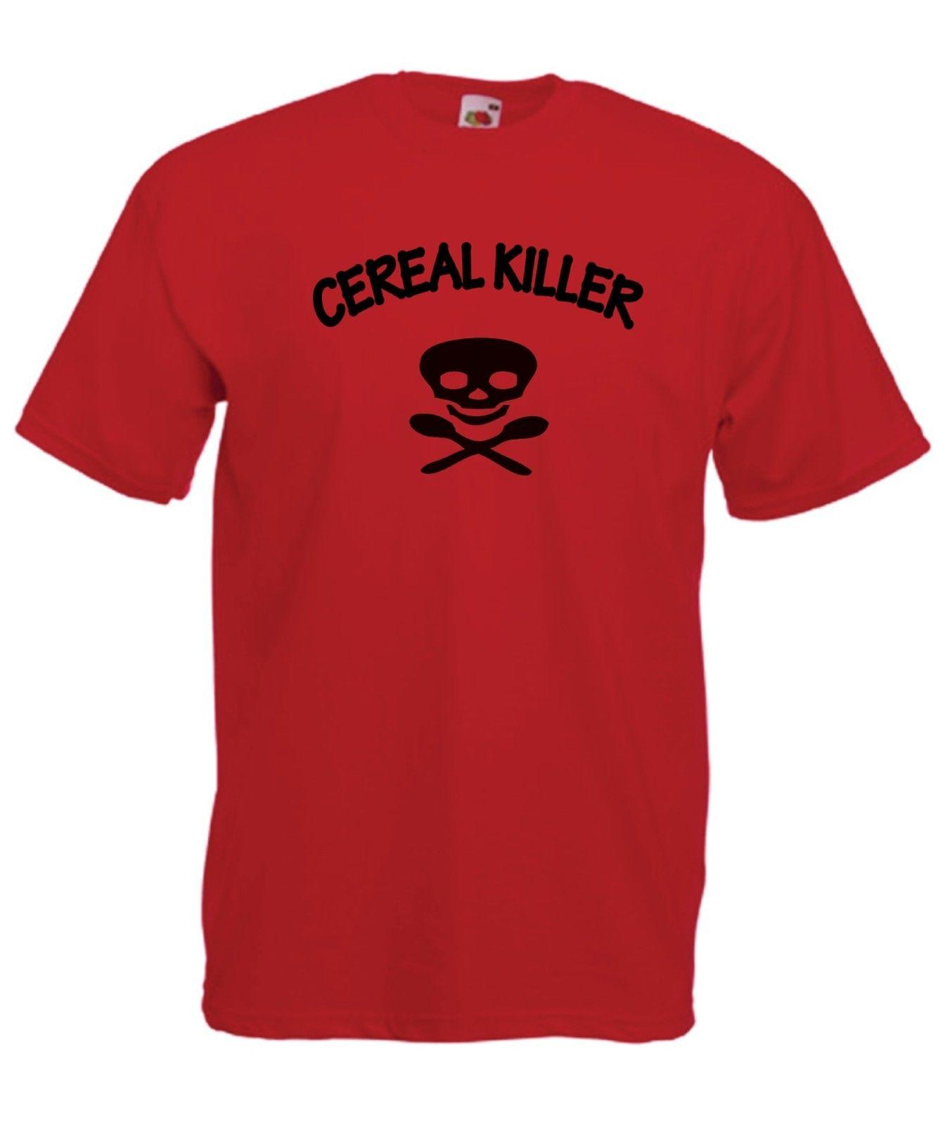 cde4eecec CEREAL KILLER Funny NEW Men Women T SHIRTS TOP Size 8 10 12 14 16 S M L Xl  XxL Classic Quality High T Shirt T Shirts And Shirts On T Shirts From  Mooncup, ...