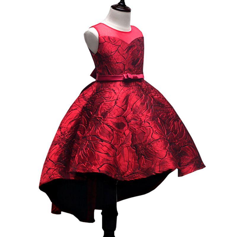 5978324e5 Compre Vestido De Fiesta Para Niña De Los Niños Boda Noche De Navidad  Vestidos Formales Vestidos De Flores Sin Mangas Para Niñas 3 10 Años  Princesa A $93.45 ...