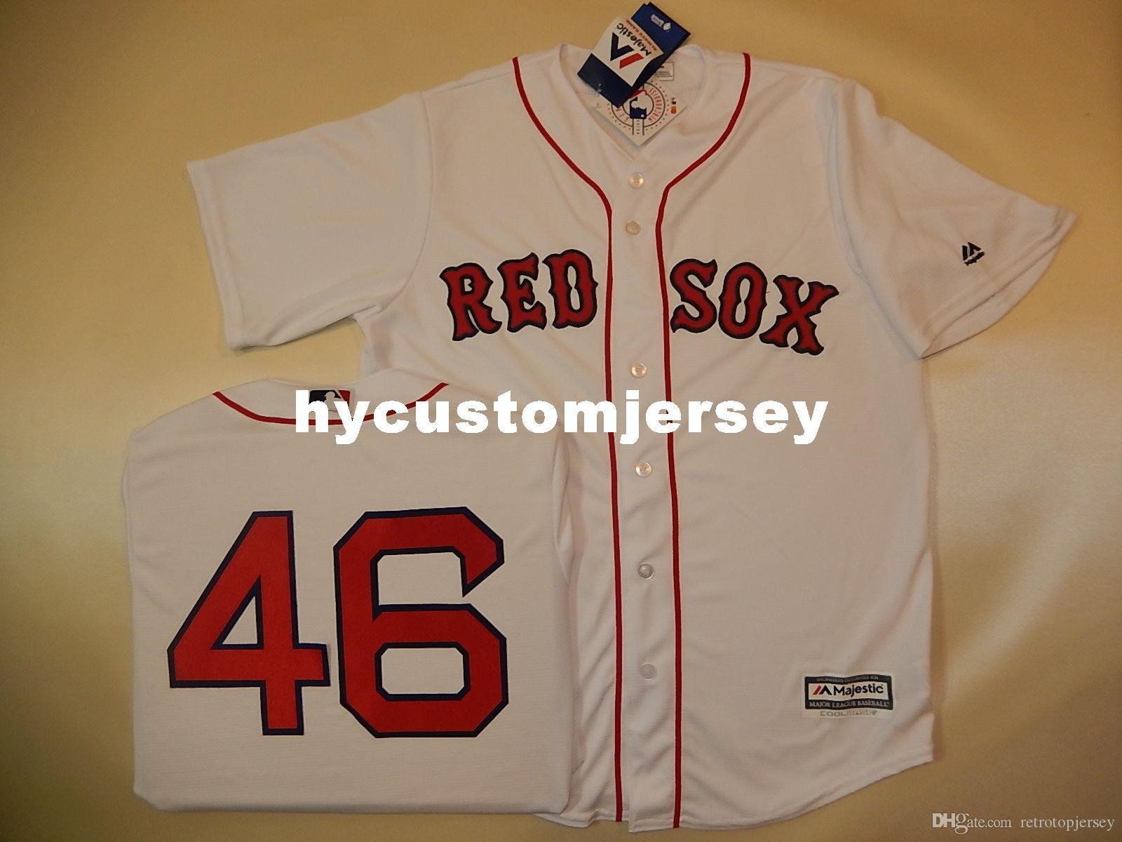 online store f4c1c fa41f Cheap custom MAJESTIC Boston #46 CRAIG KIMBREL SEWN Cool Base Baseball  Jersey Mens stitched jerseys Big And Tall SIZE XS-6XL For sale