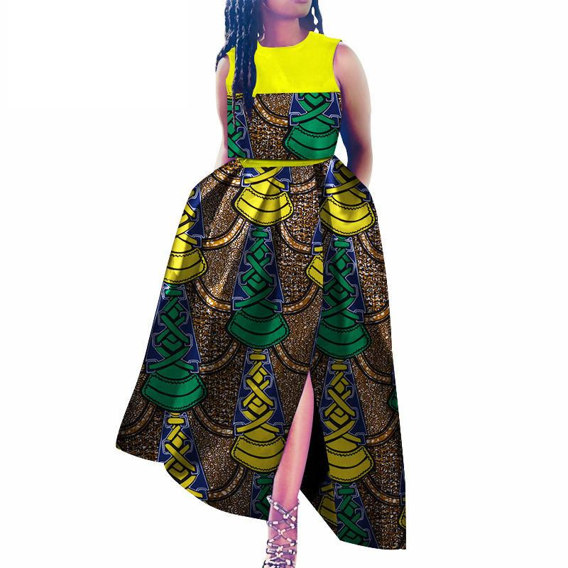 2019 African Dresses For Women Plus Size Wax Batik Bazin Ankara ...