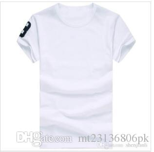 d5b5c98593 2019 High Quality Cotton New O Neck Short Sleeve T Shirt Brand Men T Shirts  Casual Style For Sport Men T Shirts Nine Colour Si Shirt Tee Shirt Shirts  From ...