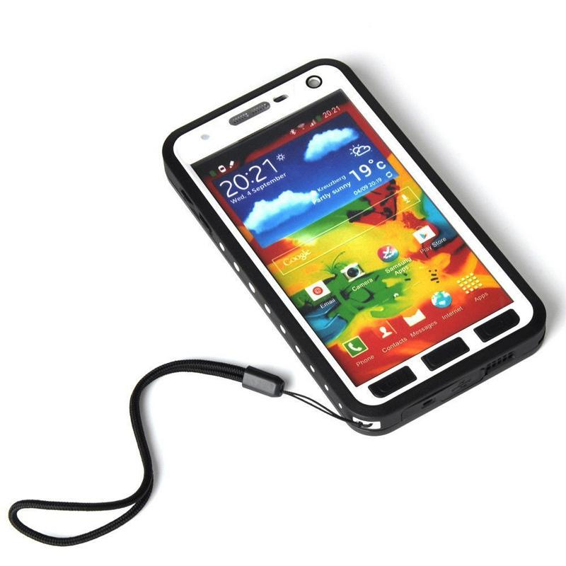 timeless design 81146 c9ebb Waterproof Shockproof Dirtproof Case For Samsung Galaxy Note 3 Hybrid Full  Body Protective Phone Cases Covers with Built-in Screen Protector