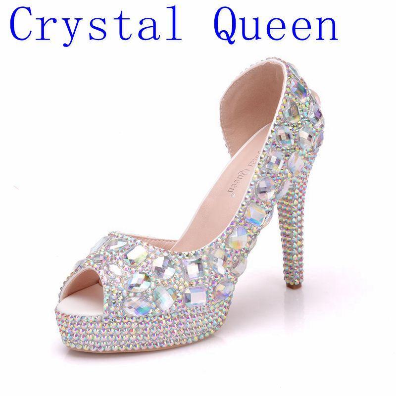 compre venta al por mayor zapatos de boda para mujer peep toe