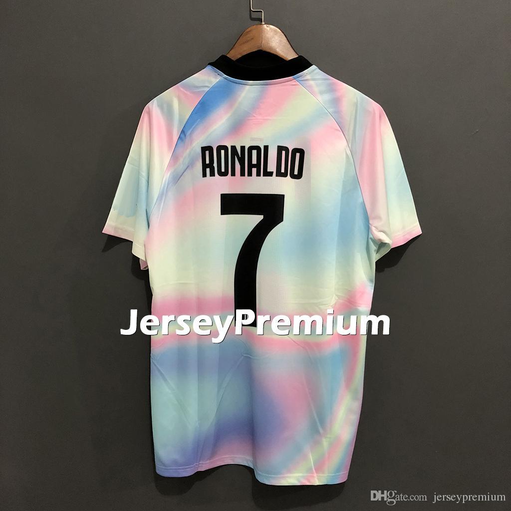 best value 3f566 0585d EA Sports Douglas Costa Cristiano Ronaldo Cuadrado Marchisio Chiellini  Pjanic Matuidi Dybala Football Soccer Jerseys Shirts