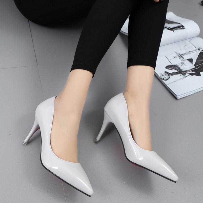 4ae5c48868e9e Acheter Chaussures Habillées Griffées YOUYEDIAN Chaussures À Talons  Aiguilles Sexy Et À Bout Pointu Pour Femmes De  16.74 Du Deal11