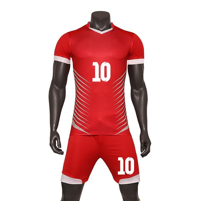 Compre 2019 Nuevo Adulto Profesional De Fútbol Deportivo Jersey Set  Uniformes 18 19 Trajes De Entrenamiento De Fútbol Ropa Hombres Barato  Equipo Futbol ... 2e50f2ce02345
