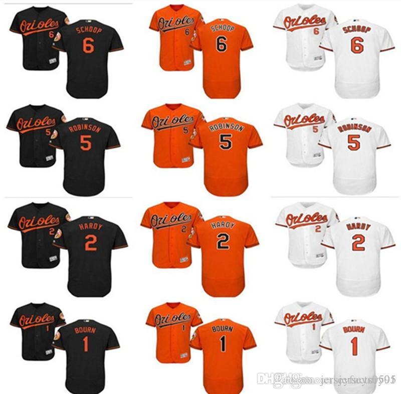 aeb08effcd8 2019 Custom Men S Women Youth Baltimore Orioles Jersey  2 J.J. Hardy 1  Michael Bourn 6 Jonathan Schoop 5 Brooks Robinson Home Baseball Jerse From  ...