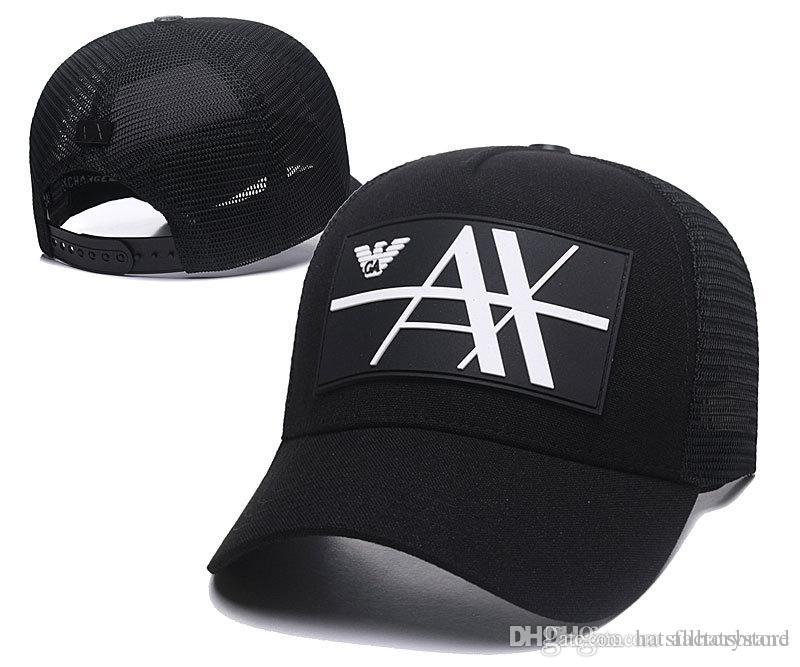 Casquette AX Cap Golf Outdoor Hats Adult Mesh Caps Black Trucker Hat Bone  Snapback Hats Top Quality Brand Hats Tennis Lovers Lids Cap From  Hatsfactorystore e584df8ff17a