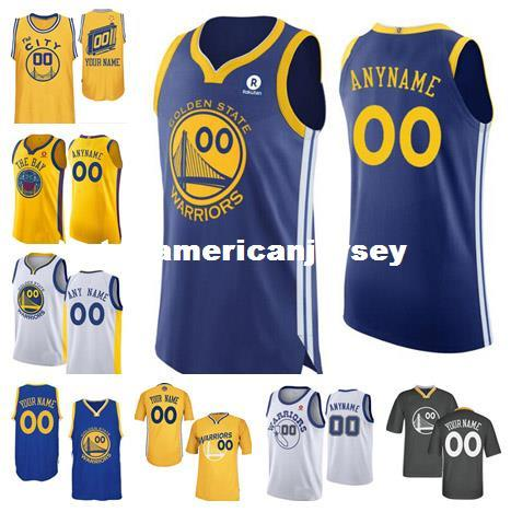 09b5d1cbec9e 2019 Cheap Custom New Jersey Customize Any Number Any Name Mens Stitched  Retro Personalized Blue Black White Gold Jerseys From Topamericanjersey