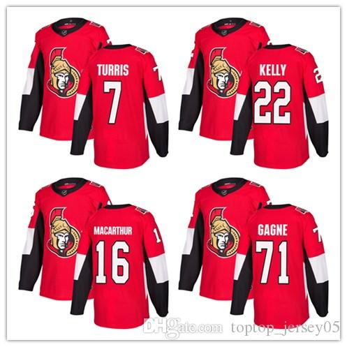 new products 946e7 53b19 2018 Ottawa Senators Jerseys #7 Kyle Turris 22 Chris Kelly 16 Clarke  MacArthur Jersey men#WOMEN#YOUTH#Men's Baseball Jersey