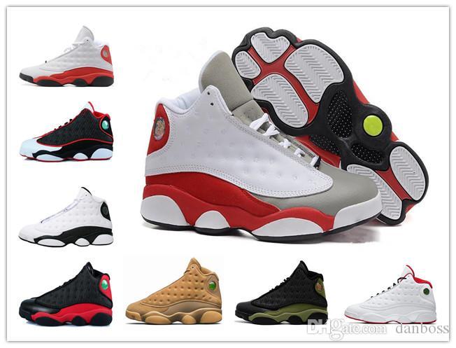 ebf89a7c5ee9 2018 News Men Basketball Shoes Captain America 13s XIII Black Cat Flints  Athletics Sneakers Sports Shoe 13s Trainers Sports Sneakers Danboss 13S  Captain ...