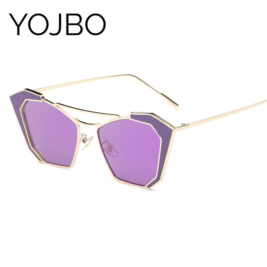 a9a16298e2 YOJBO Real Polarized Women Sunglasses 2019 Fashion Retro Mirror Sun ...