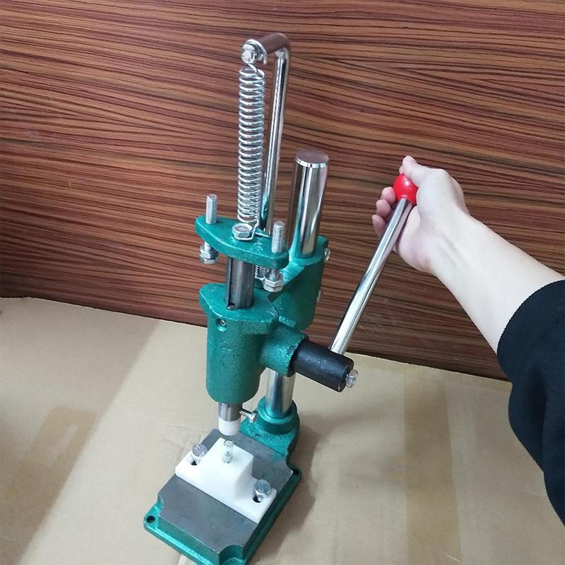 mandrel Press Machine for M6T G5 Dank Vapes Cartridge Portable Manual  Compressor Hand Presse Machine For Concentrate oil 510 vaporizer pen
