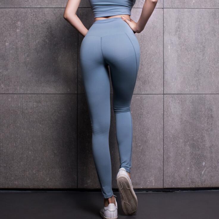 Verantwortlich Feste Hohe Taille Fitness Legging Frauen Herz Workout Leggins Femme Mode Mesh Und Pu Leder Patchwork Leggings Frauen Kleidung & Zubehör