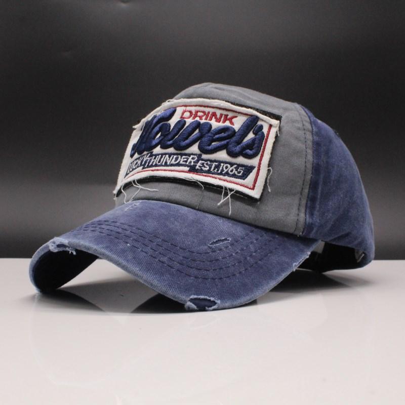 18d4d8c36 Seioum Brand Washed Soft Cotton Baseball Cap Hat For Women Men Vintage Dad  Hat Embroidery Casual Outdoor Sports Cap