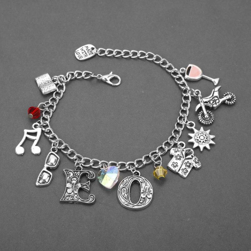 Call Me By Your Name Friehdship Bracelet Handmade Jewelry Evil force Movie Bangle Bracelet For Women