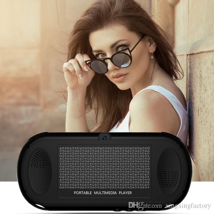 최고 품질 5.1 인치 x12 핸드 헬드 게임 플레이어 8GB 메모리 휴대용 비디오 게임 콘솔 TF 카드 32GB MP3 MP4 게임 플레이어