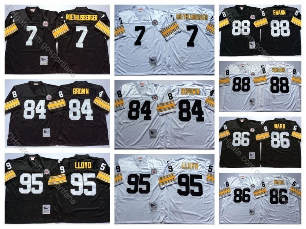 pretty nice c2acd f784e 2019 Vintage Steelers 7 Ben Roethlisberger Jersey Pittsburgh ...