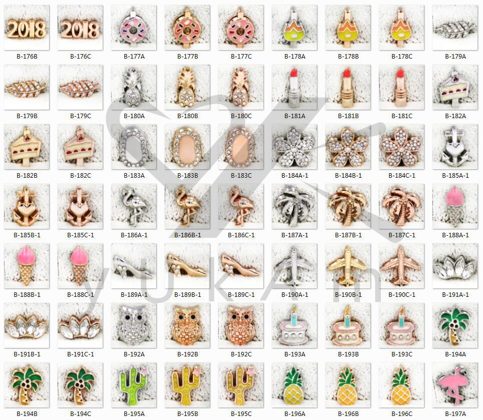 YUKAM Schmuck Personalisierte Benutzerdefinierte Name Diacharme Armbänder Edelstahl Mesh Keeper Armbänder Armreifen für Frauen Sammlung