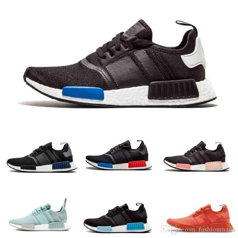 8a1f114e2138d 2019 NMD R1 OREO Runner NBHD Primeknit OG Triple Black White Camo Running  Shoes For Men Women Beige Runner Sports Shoe EUR 36 45 Best Running Shoes  For Men ...