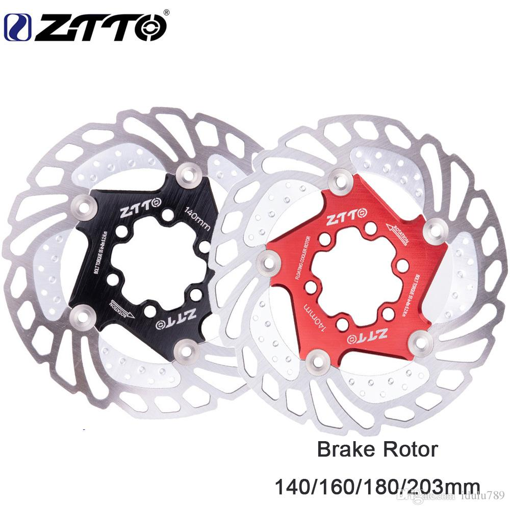 ZTTO 1pcs MTB Bicycle Disc Brake Cooling Floating Rotor 140mm 6 bolts Rotor  For mountain Bike RT99 RT86