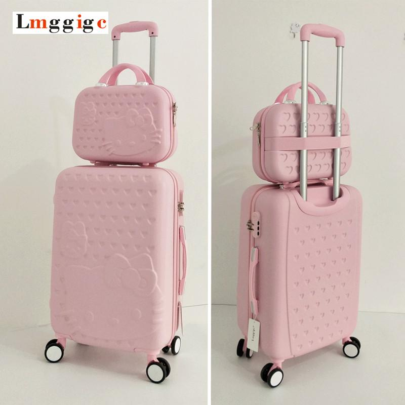 aec3d62f9a12 Hello Kitty Luggage Bag