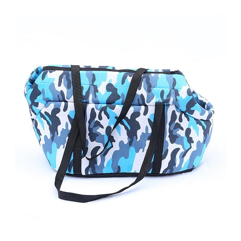 Fahsion Camouflage Dog Carriers High Quality Dogs Cats Carriers Breathable Puppy Travel Handbags Pet Carrying Shoulder Bags