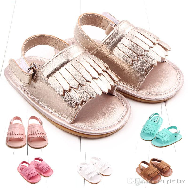 3d0831fc99320 Kids Designer Sandals Summer Leisure Fashion Baby Girls Sandals Of Children  PU Tassel Clogs Shoes Buy Kids Sneakers Online Childrens Shoes From  Wu pistilure ...