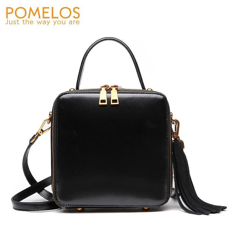 2267b1d32d POMELOS Women Bag Genuine Leather High Quality Handbag Crossbody Bags For  Women Fashion Ladies Hand Bags Purses And Handbags New Man Bags Crossbody  Purses ...