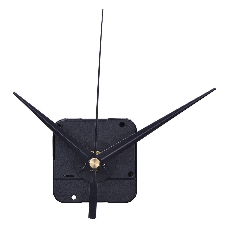 Bricolaje Mecanismo de reloj de alto par 3/10 pulgadas de grosor máximo del disco 4/5 pulgadas de longitud total del eje