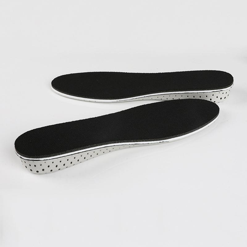 New Style 1 Pair Women Men Height Increase Insoles Breathable proof Durable Shoes Pads