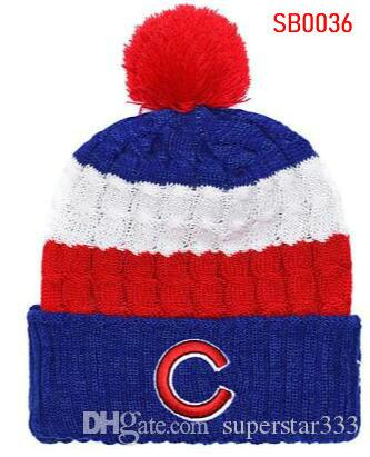 2019 Winter Cubs Beanie Beanies Skull Hat Men Women Knitted Beanie Wool Hat  Man Sport Knit Hat Bonnet Warm Baseball Skull Cap Beanie Boo Trucker Hats  From ... 250e8ae2d75