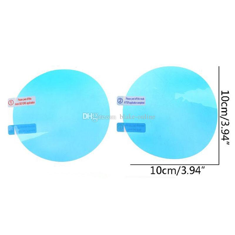 Rearview Mirror Protective Film Anti Fog Window Foils Rainproof Rear View Mirror Stickers Screen Protector Car Accessories With Package
