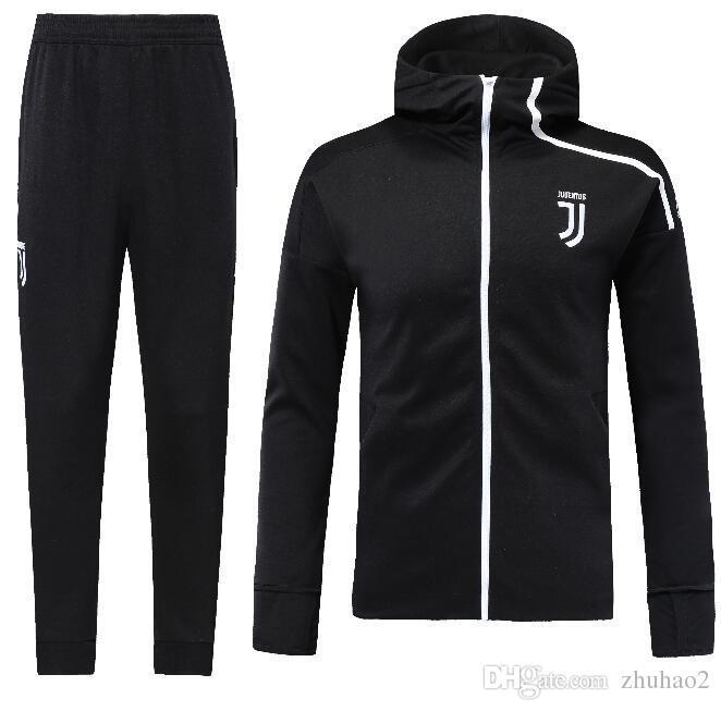 77d040eaf Best Quality 2019 Soccer Tracksuit Hoodie Juventus Football Jacket ...