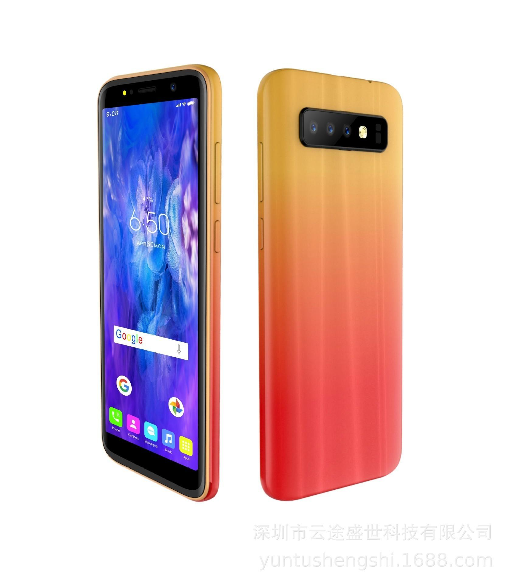 2019 New Pattern S10 Gradual Change 5.5 Inch 18: 9 Ips Screen 200w Camera Wcdma3g Low Price Mobile Phone