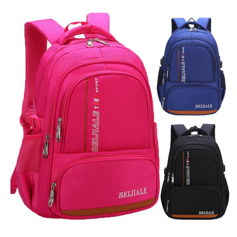 2ff7c0dcab Waterproof Backpack Children School Bags Girls Boys Kids Satchel Backpacks  Schoolbags Primary School Backpack Sac Enfant Boys Backpacks Laptop Rucksack  From ...