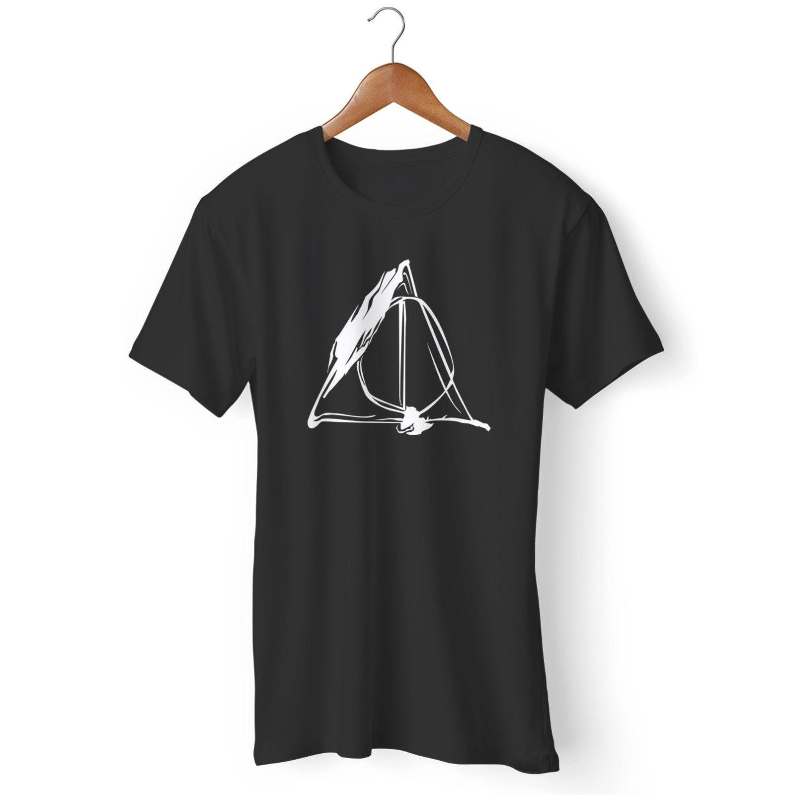 685a0f54 Deathly Hallows Symbol Harry Potter Always Harry Potte Man's and Woman's T- Shirt Funny free shipping Unisex Casual top