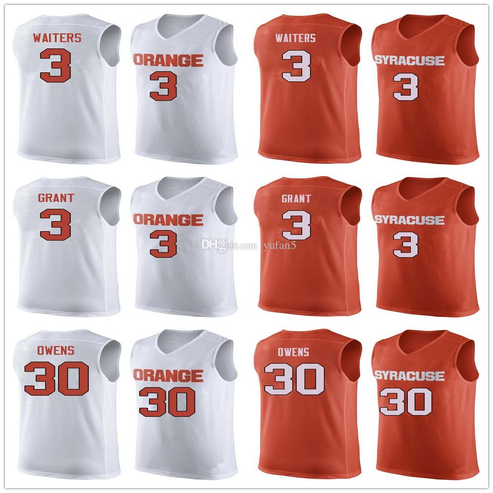e66812e1c 2019 Syracuse Orange College  3 Dion Waiters  3 Jerami Grant  30 Billy  Owens Basketball Jerseys Mens Stitched Custom Number Name From Yufan5