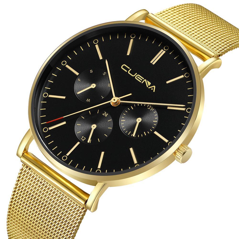 fd377fea8 Fashion Wall Clock Modern Design Large Mens Watch Slim Mesh Steel  Waterproof Minimalist Wrist Watches  30 Watches Online Sale Watches For  Sale Online From ...