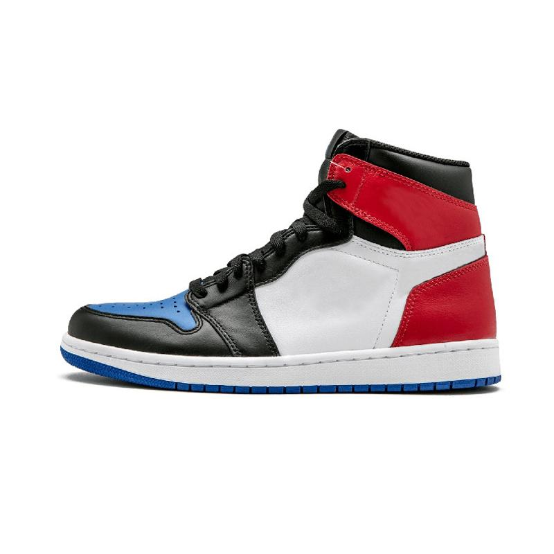 Cheap 1 top 3 Banned Bred Toe Chicago OG 1s Game Royal Blue mens basketball shoes sneakers Shattered Backboard men sports designer 01