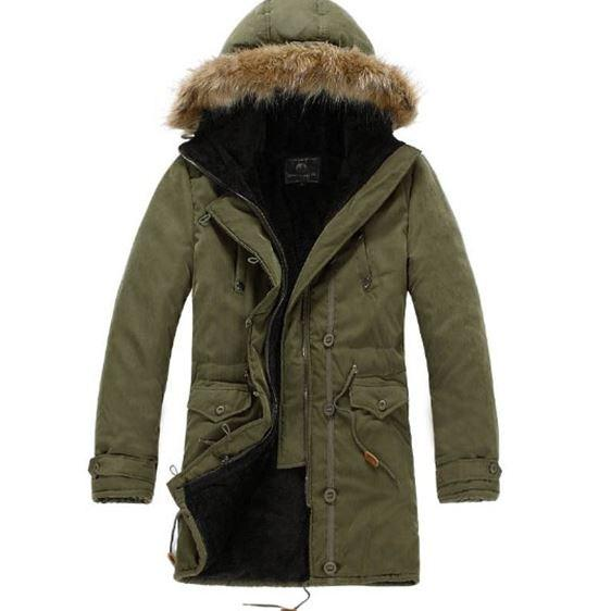 New winter casual thicken warm hooded men brand jackets Dropshipping hot sale coat windbreak wool neck fashion clothes