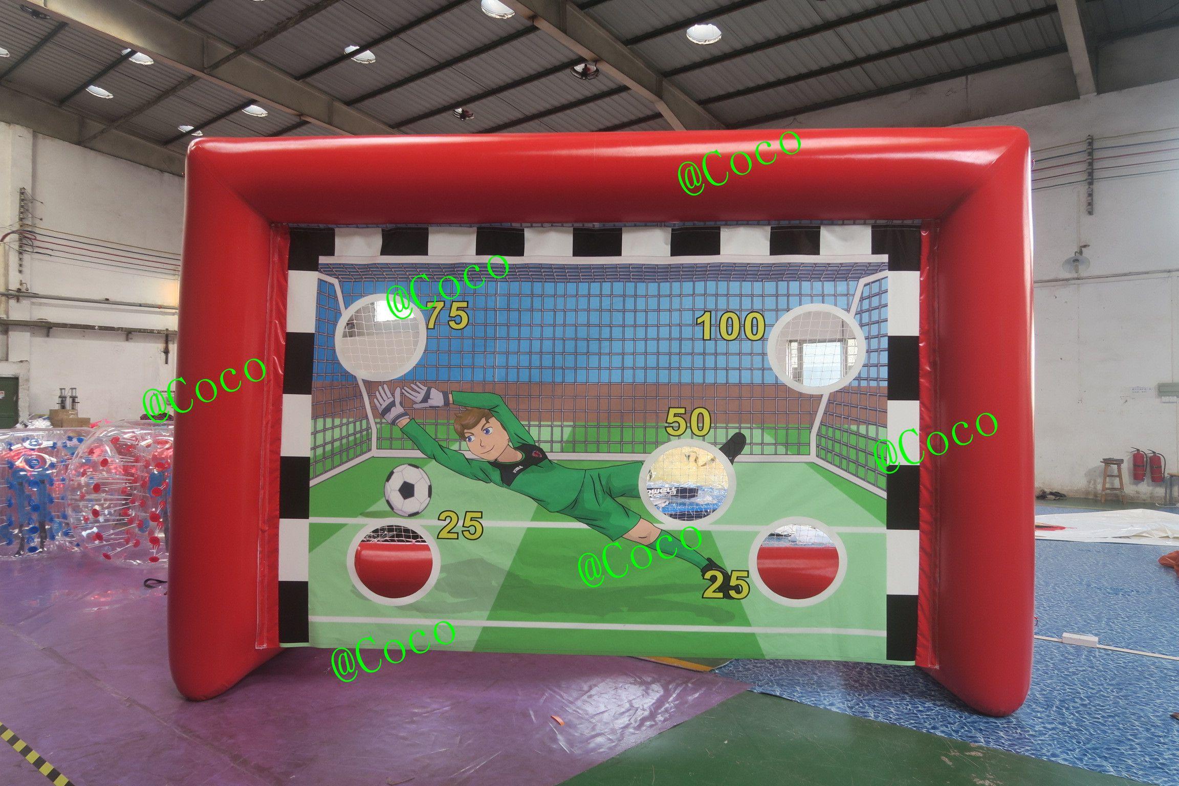 Soccer Goals For Sale >> Inflatable Soccer Kick Shooting Games For Sale Inflatable Football Goal Cheap Inflatable Soccer Goal