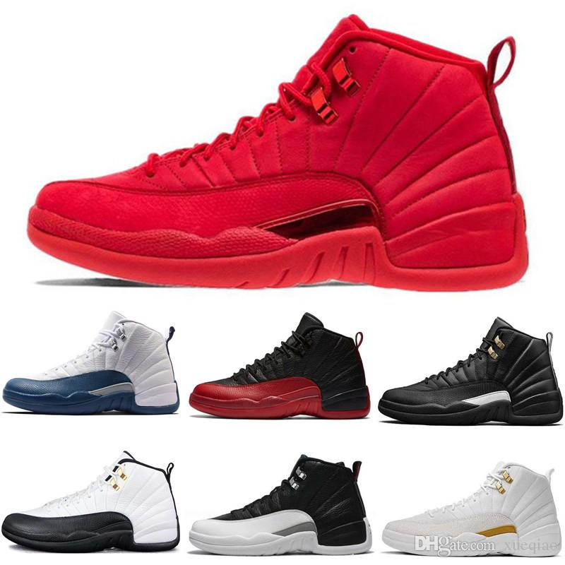 3d2f2793c7cde8 Best Quality 12s Basketball Shoes 12 OVO Bred Gym Red Men Women Taxi Flu  Game French Blue Olive Sports Shoes Sneakers Size 7 13 Barkley Shoes Shoes  Jordans ...