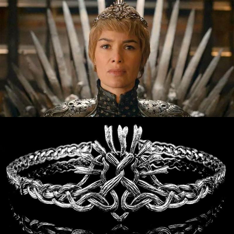 Wedding Hairstyles Games: 2019 Game Of Thrones Season7 Cersei Lannister Crown Hair