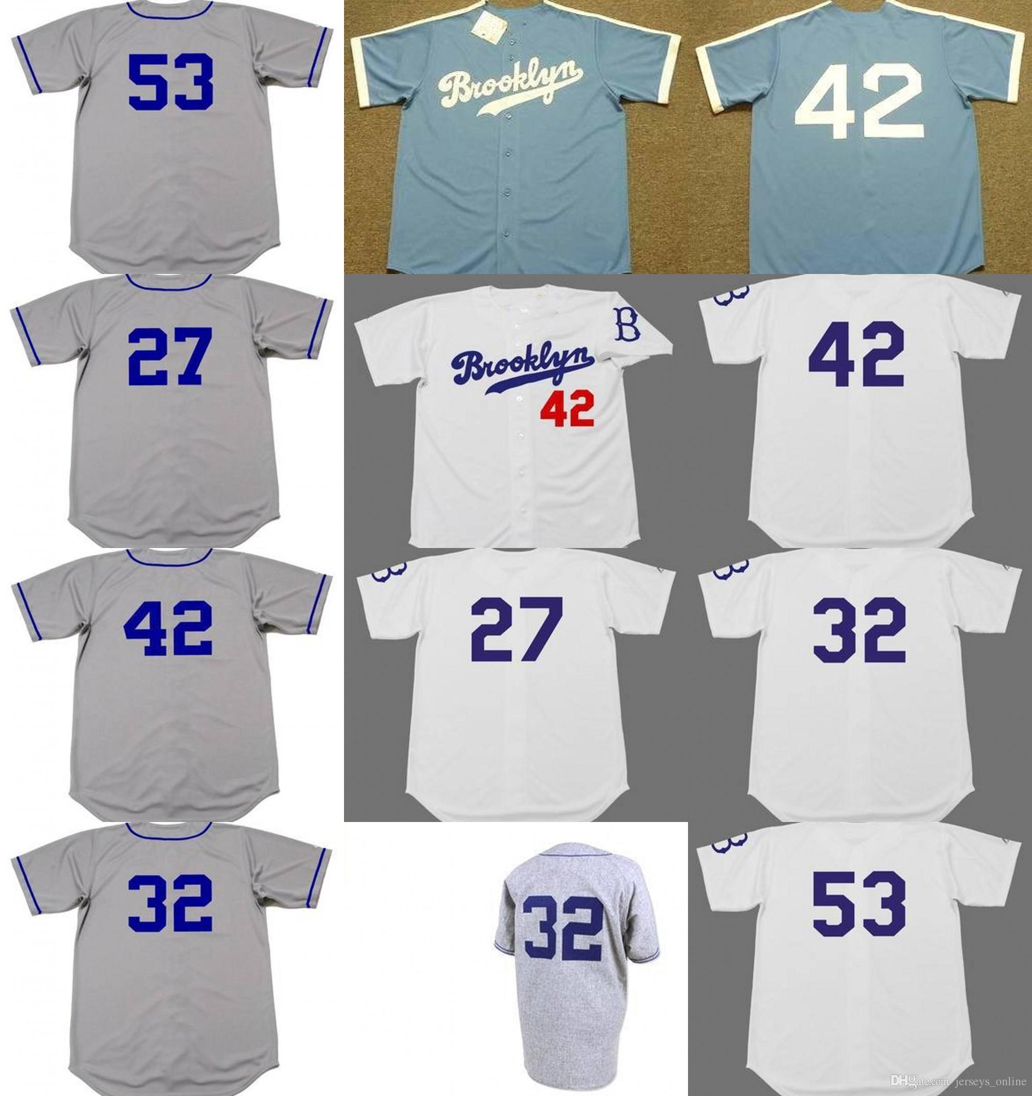 2019 Men Youth Women Brooklyn TOMMY LASORDA JACKIE ROBINSON SANDY KOUFAX TOMMY  LASORDA Dodgers Jersey S 5XL From Jerseys online 7d1fc48893a