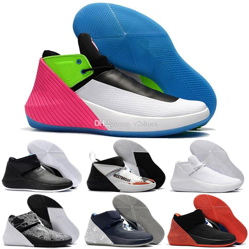 Sports Russell Westbrook Why Not Zer0.1 Mens Designer Sports Jumpman Shoes for Men Sneakers Bred Cotton Shot All star Trainers shoes