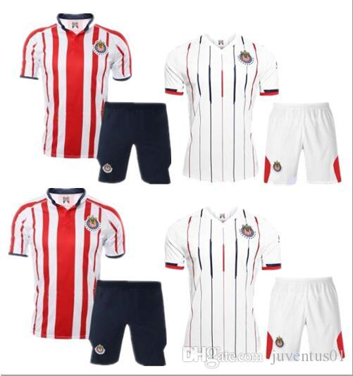 f0a7d549046 2019 2019 Chivas Club America UNAM Mens Kit 18 19 Guadalajara Home Away  Soccer Jersey 18 19 A.PULIDO Camiseta De Futbol Jerseys From Juventus01